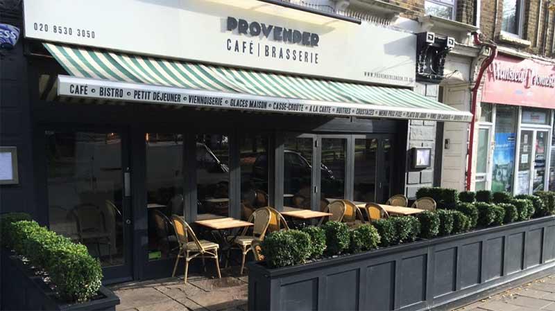 Provender restaurant east london
