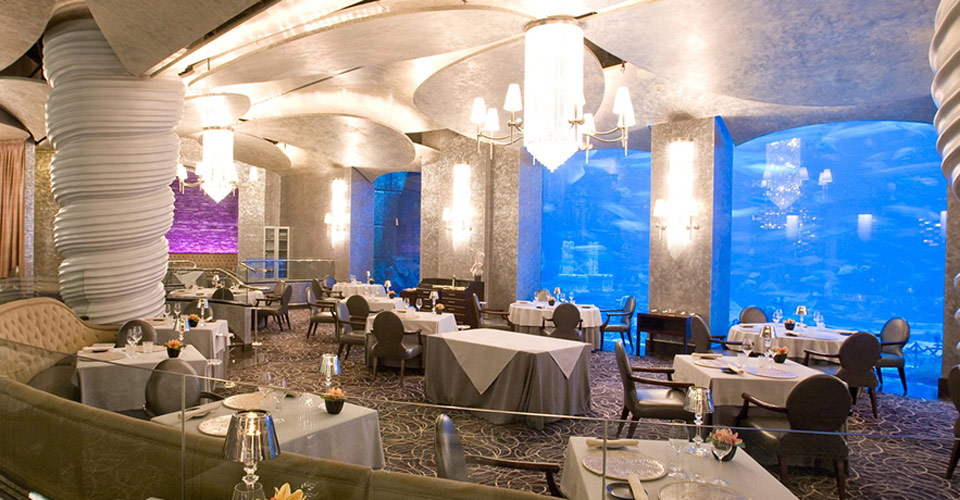 Ossiano Seafood Restaurant, Atlantis The Palm, Dubai
