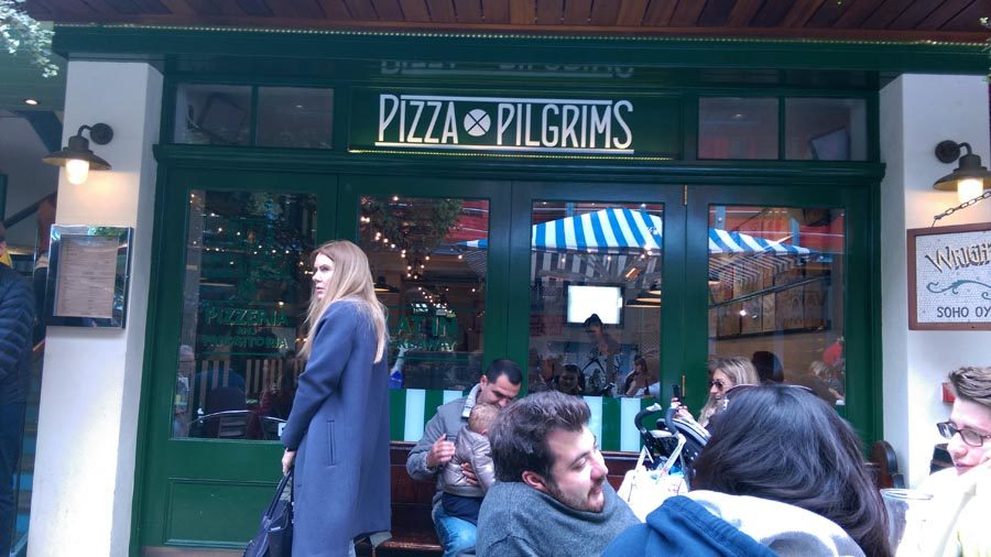 Pizza Pilgrim main entrance