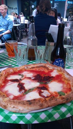 Pizza Pilgrim pizza