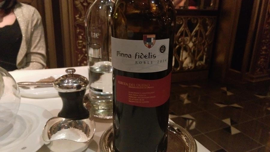 Pina Fidelis spanish wine