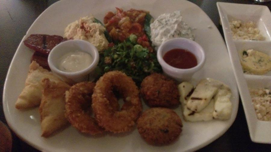Marina restaurant starter
