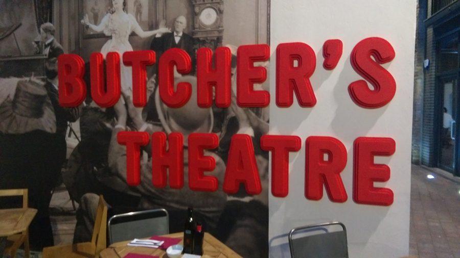Butcher sign outside