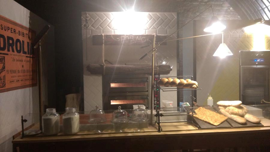 Homemade bread and focaccia