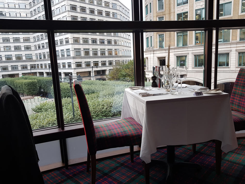 Boisdale Table with View