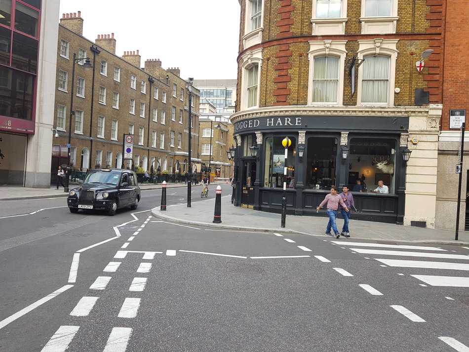 Jagged Hare Street View